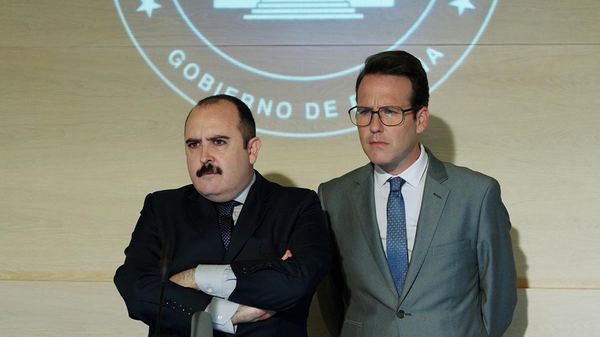 Carlos Areces y Joaquín Reyes en Cuerpo de élite