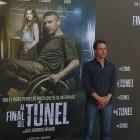 Rodrigo Grande en la presentación de Al final del túnel