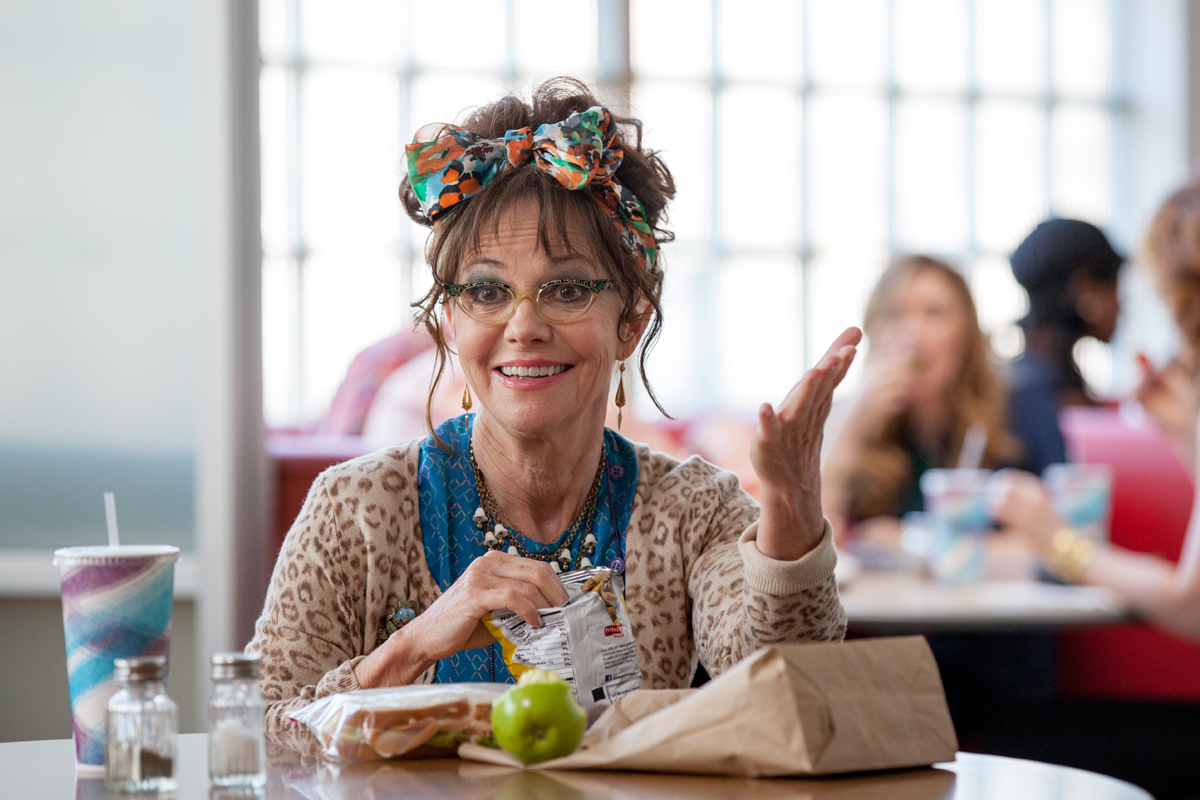Sally Field en Hello, my name is Dorys