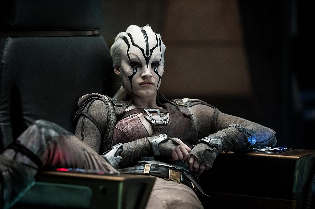 Sofia Boutella en Star Trek: Más allá