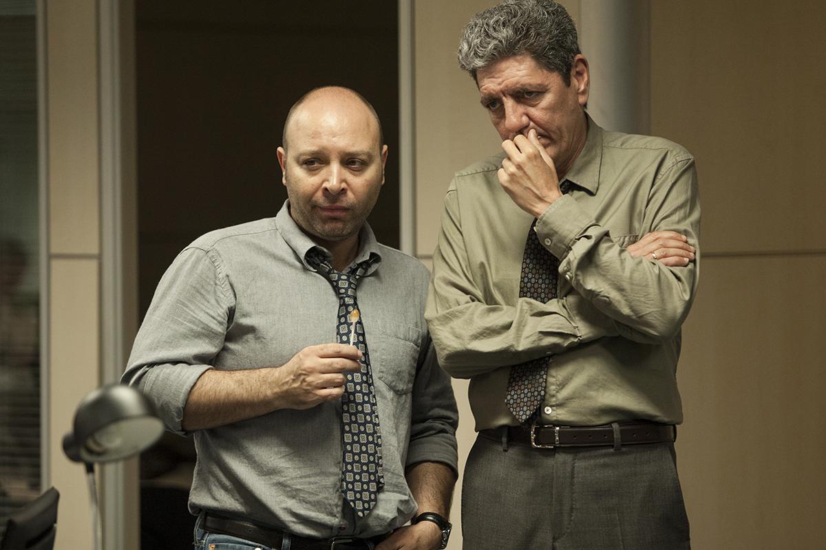 Vicente Romero y Antonio Dechent en Secuestro