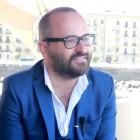 Fernando González Molina en la presentación de las primeras imágenes de El guardián invisible