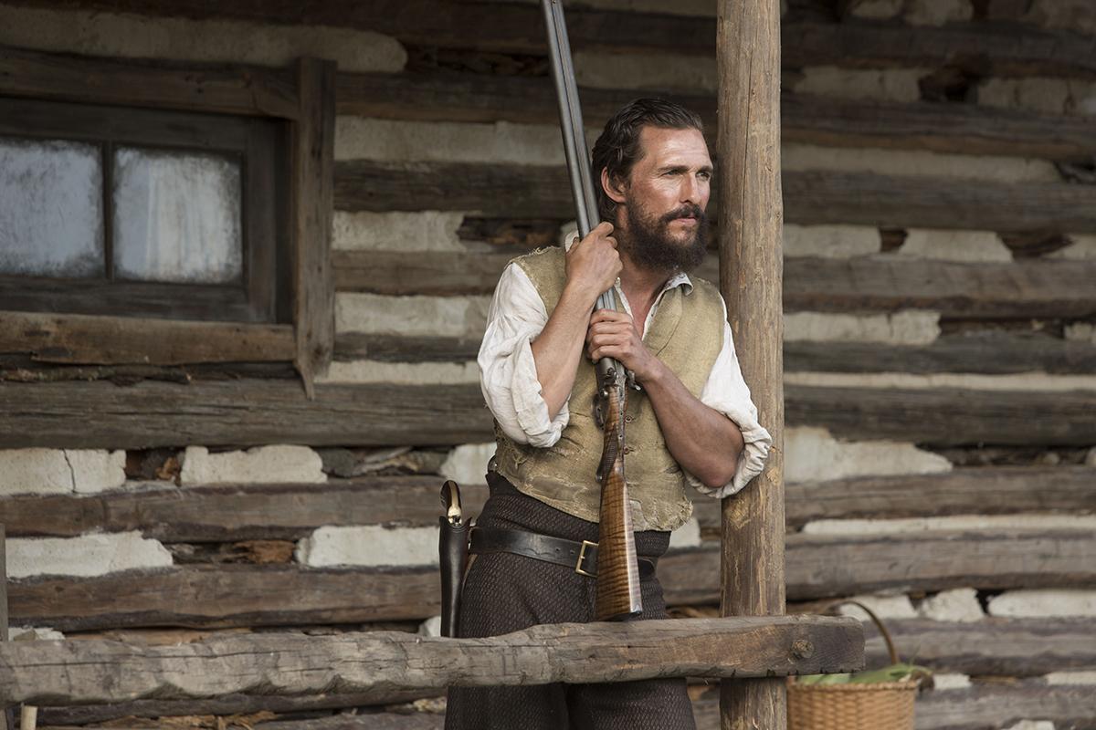 Matthew McConaughey en Los hombres libres de Jones