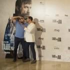 Antonio de la Torre y Luis Callejo en la presentación de Tarde para la ira