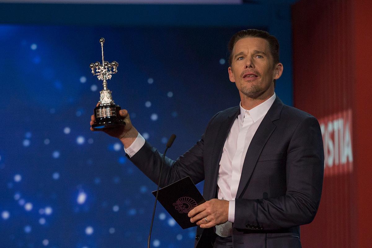 Ethan Hawke, premio Donostia en el 64 Festival Internacional de Cine de San Sebastián (3)