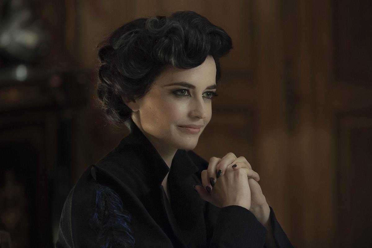 Eva Green en El hogar de miss Peregrine para niños peculiares
