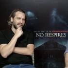 Fede Alvarez y Rodo Sayagues en la presentación de No respires