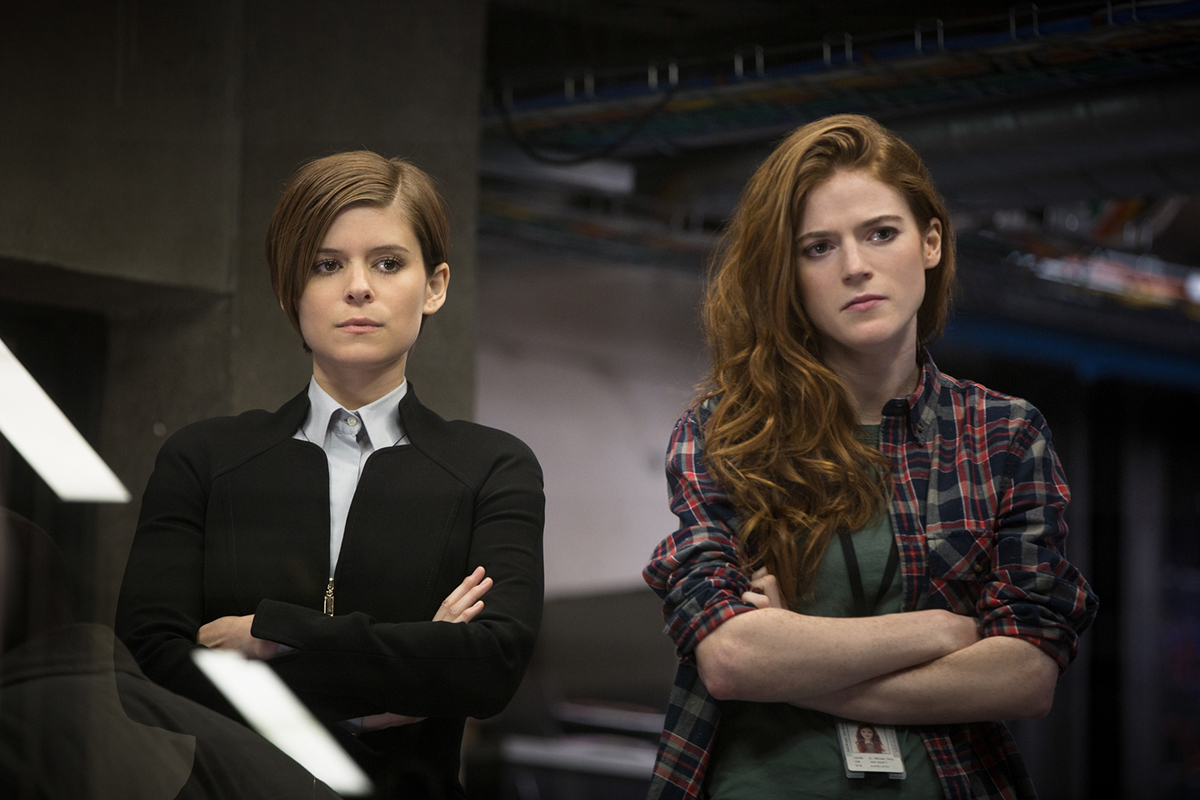 Kate Mara y Rose Leslie en Morgan