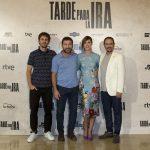 Raúl Arévalo, Antonio de la Torre, Ruth Díaz y Luis Callejo en la presentación de Tarde para la ira (2)