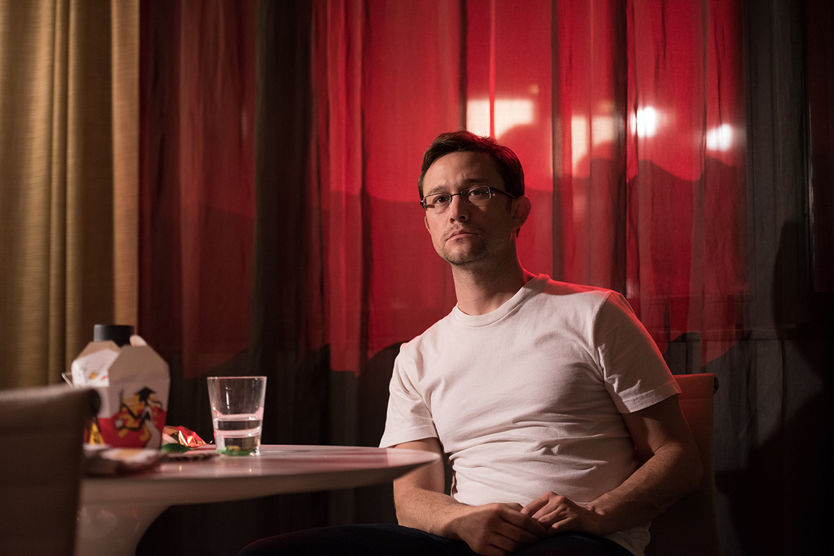 Joseph Gordon-Levitt en Snowden