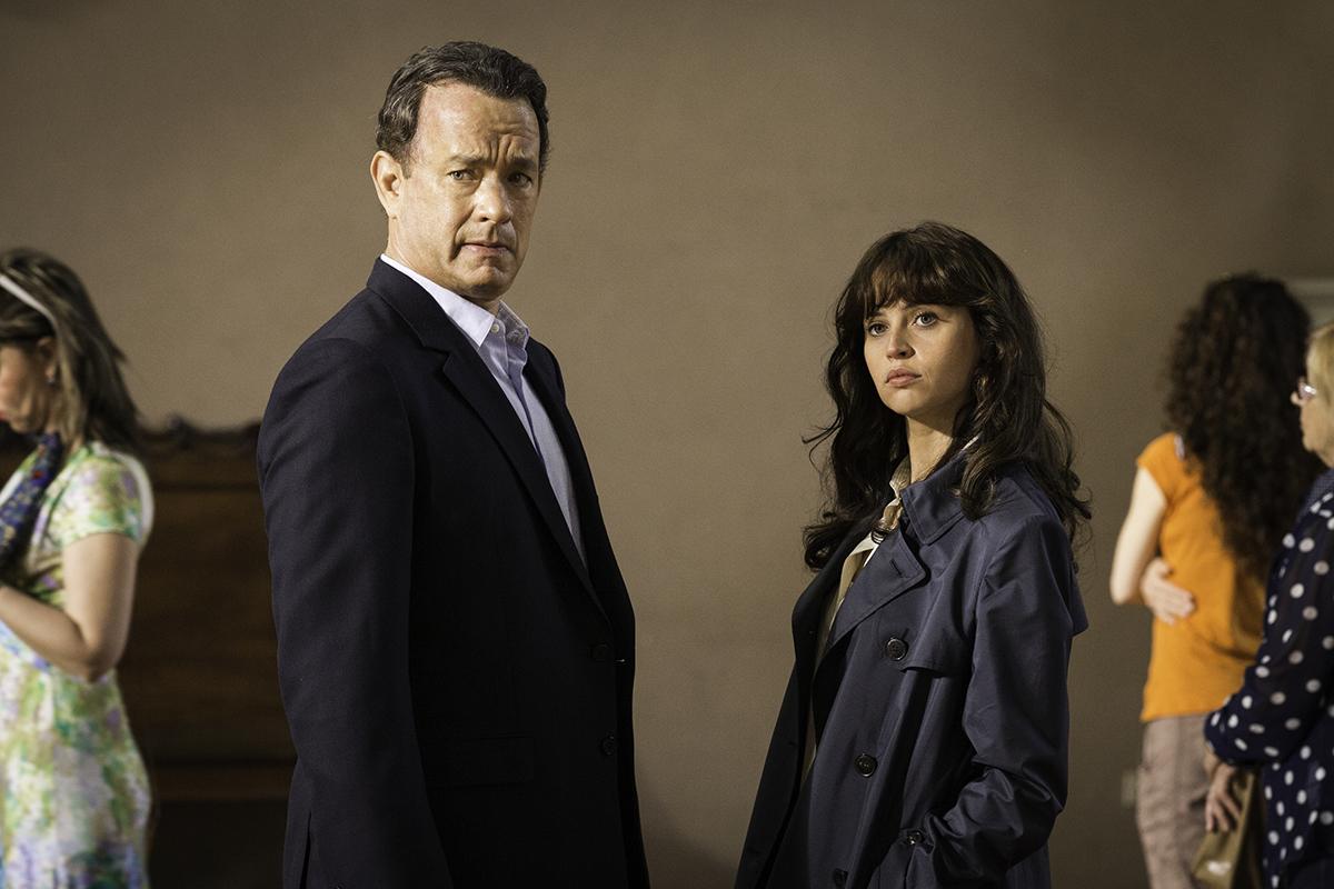 Tom Hanks y Felicity Jones en Inferno