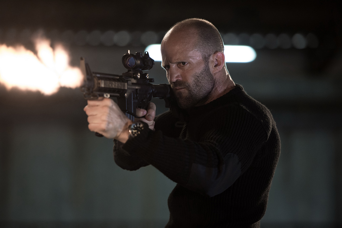 Jason Statham en Mechanic: Resurrection