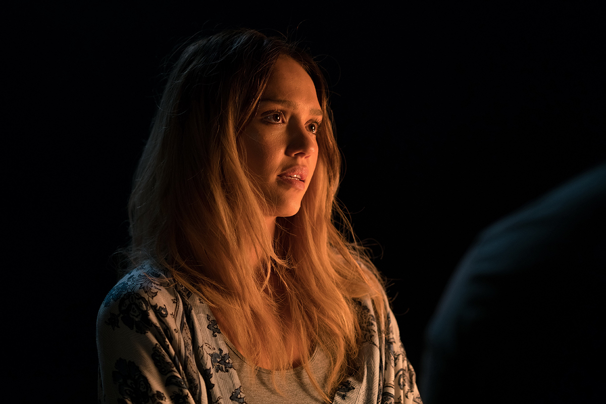 Jessica Alba en Mechanic: Resurrection