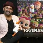 José Corbacho y Belén Cuesta en la presentación de Cigüeñas