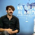 David Verdaguer y Álex García en la presentación de No culpes al karma de lo que te pasa por gilipollas