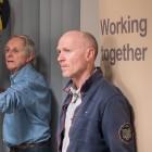 Ken Loach y Paul Laverty en el rodaje de Yo, Daniel Blake