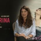 Stéphanie Di Giusto en la presentación de La bailarina