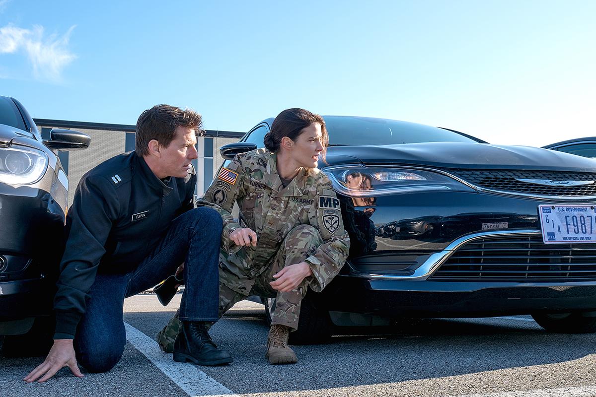 Tom Cruise y Cobie Smulders en Jack Reacher: Nunca vuelvas atrás
