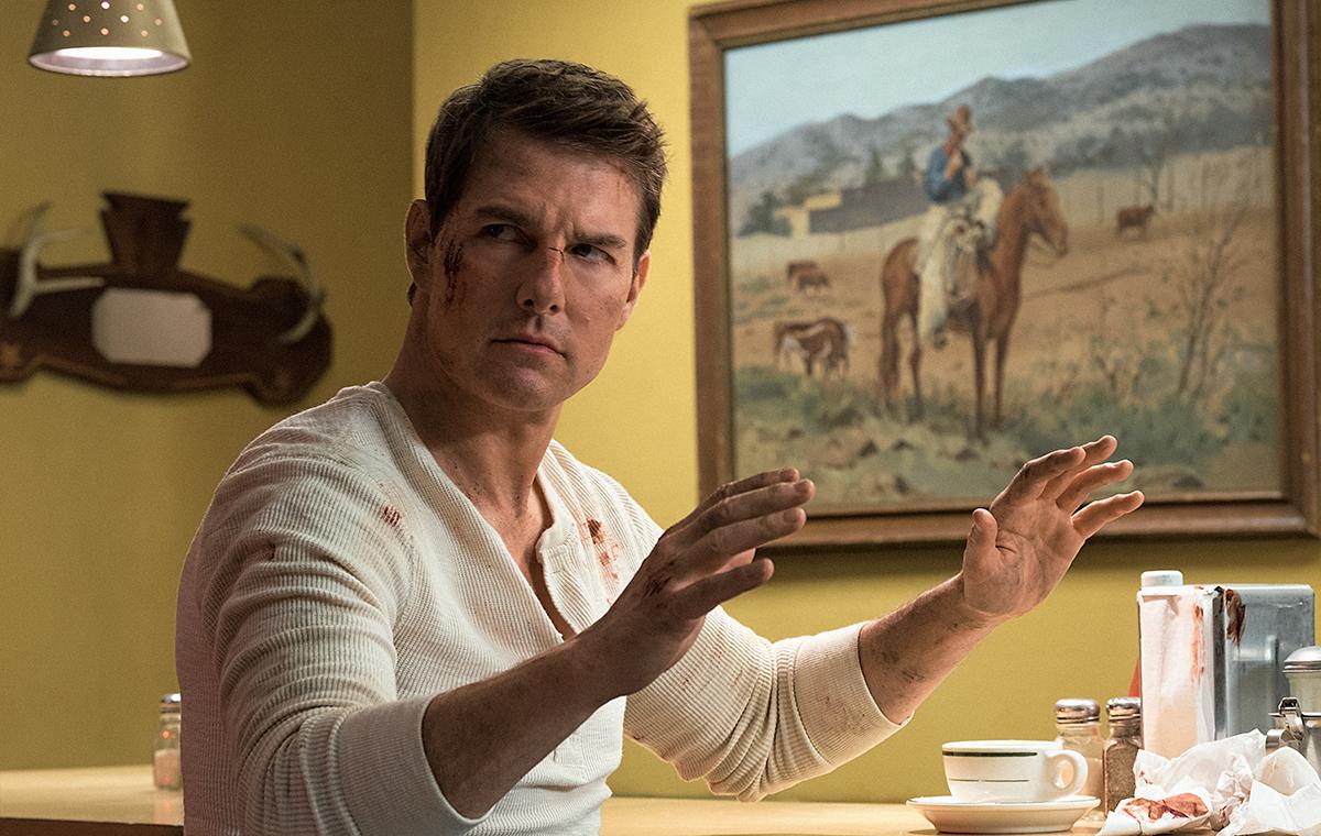 Tom Cruise en Jack Reacher: Nunca vuelvas atrás