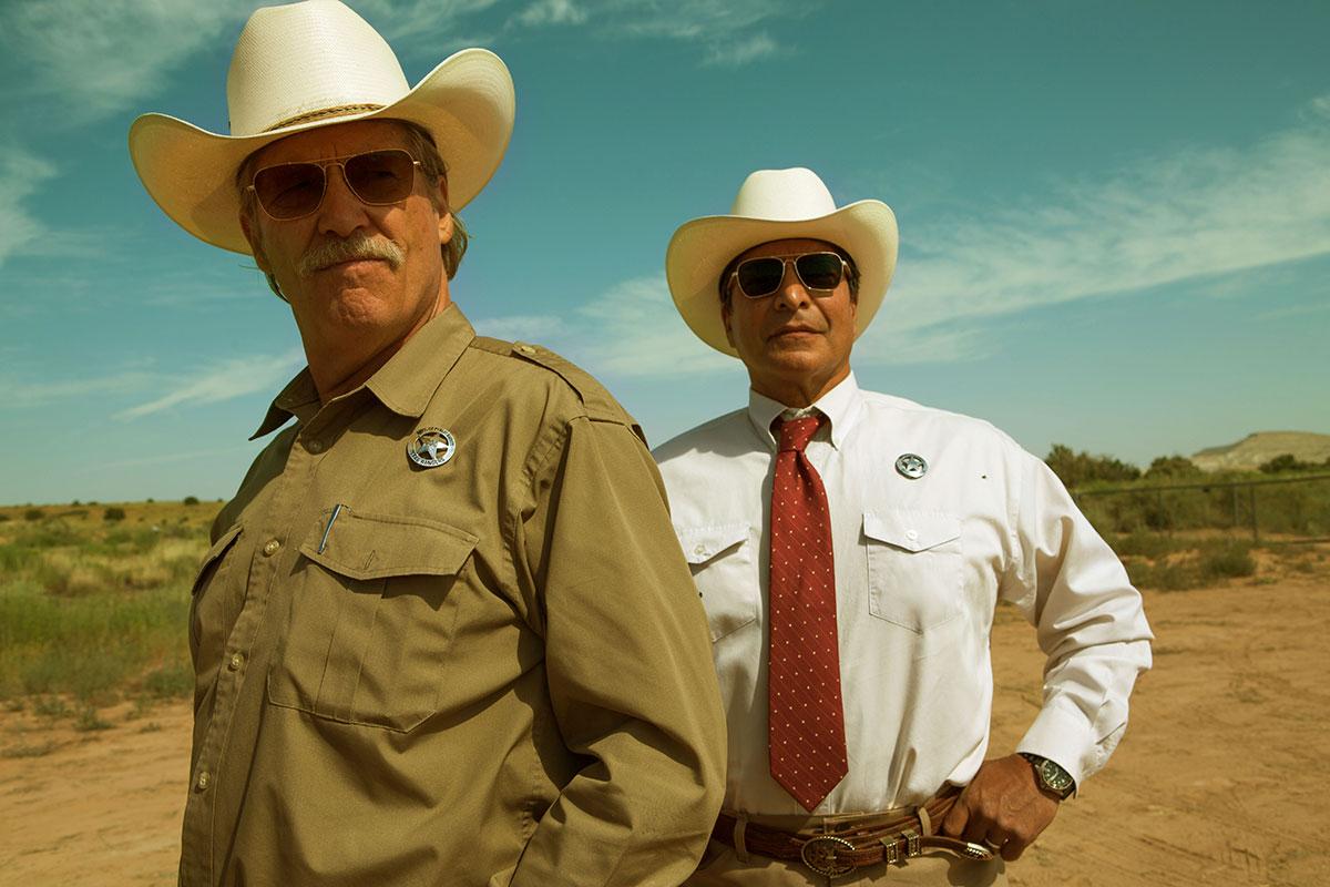 Jeff Bridges y Gil Birmingham en 'Comanchería'