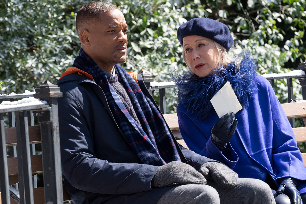 Will Smith y Hellen Mirren en Belleza Oculta