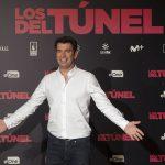 Arturo Valls en la presentación de Los del túnel