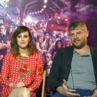 Natalia de Molina y Raúl Cimas en la presentación de Los del túnel