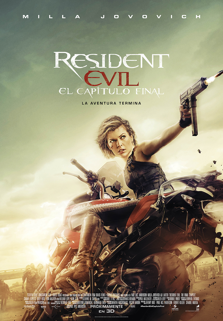 Resident Evil: Capítulo final - Poster final