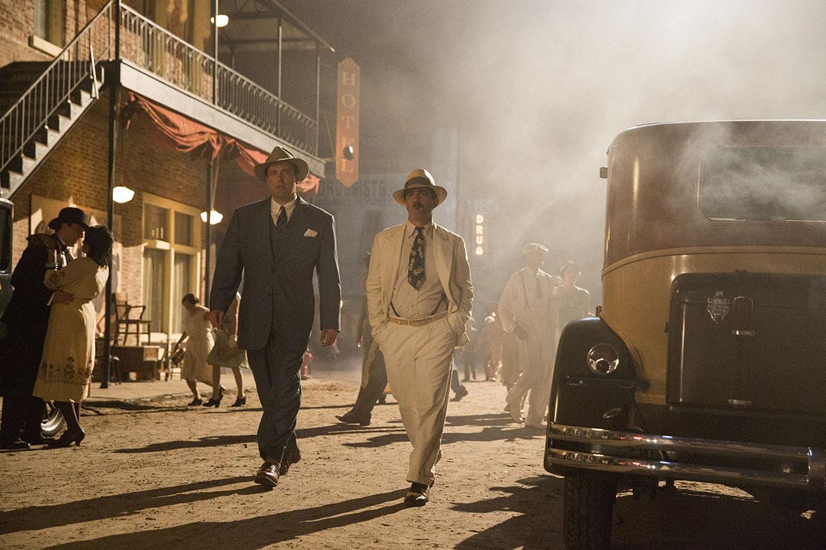 Ben Affleck y Chris Messina en Vivir de noche