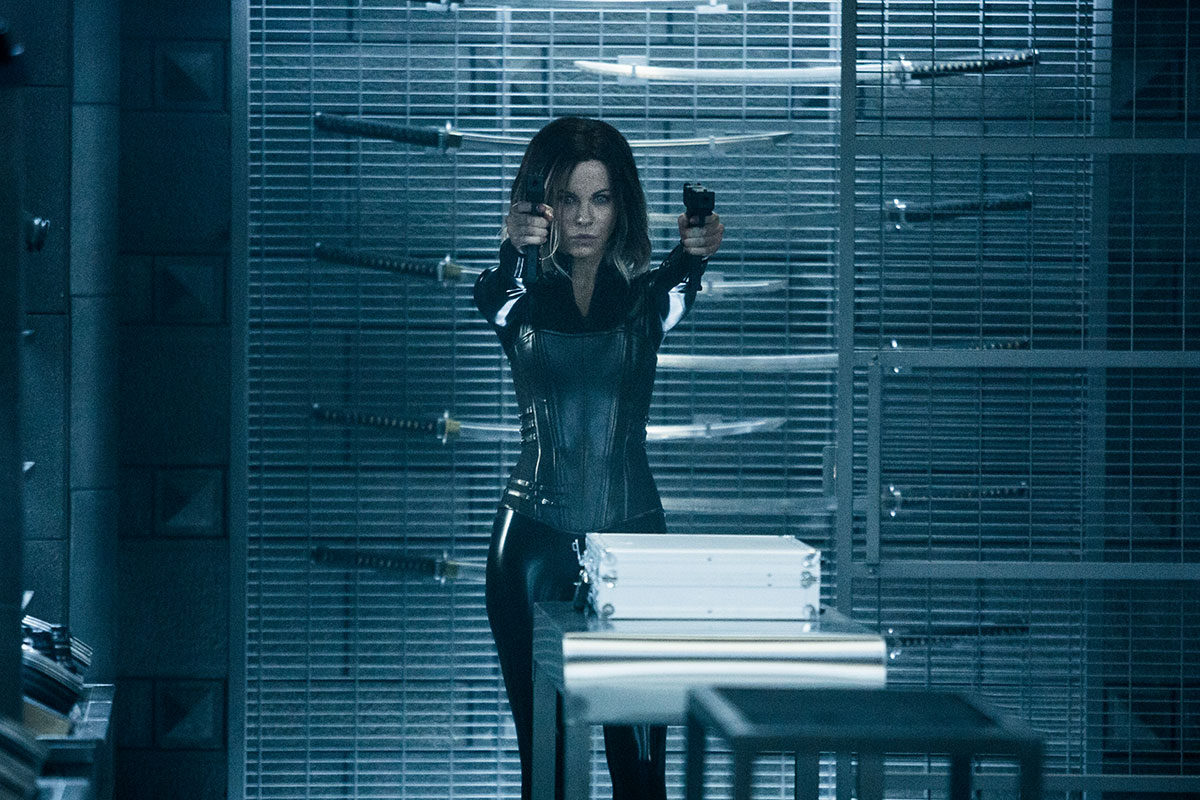 Kate Beckinsale en Underworld: Guerras de sangre