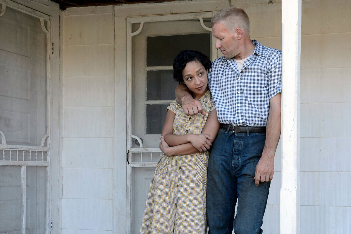Ruth Negga y Joel Edgerton en Loving