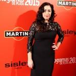 Maria Isasi en los Fotogramas de plata 2015