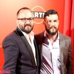 Fernando González Molina y Mario Casas en los Fotogramas de plata 2015