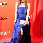 Alba Messa en los Fotogramas de Plata 2015