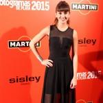 Marina San José en los Fotogramas de Plata 2015