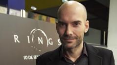 F. Javier Gutiérrez en la presentación de Rings en Madrid