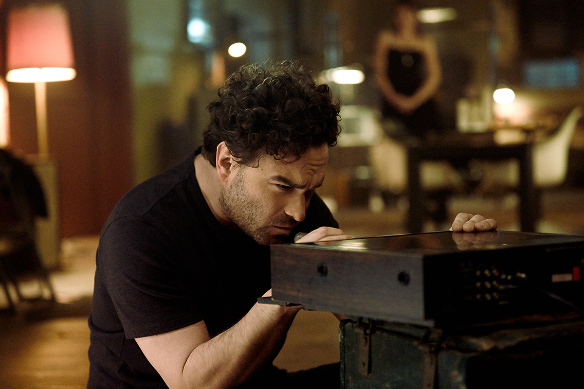 Johnny Galecki en Rings