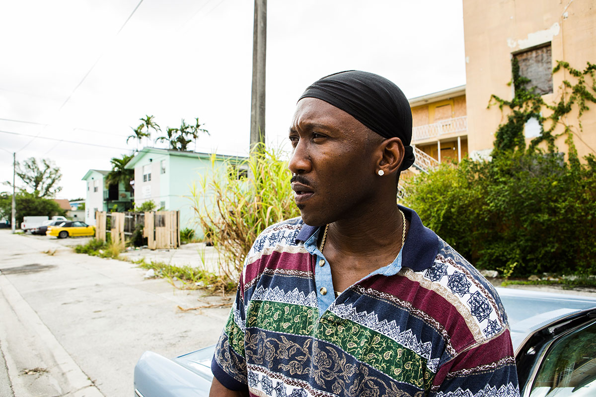 Mahershala Ali en Moonlight
