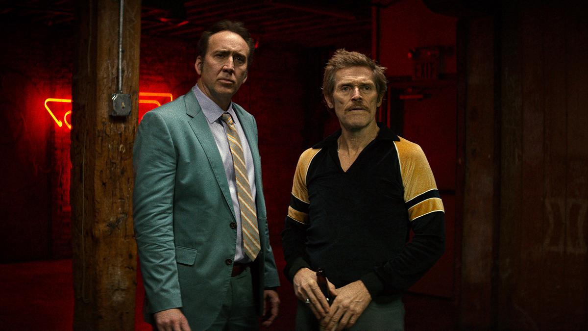 Nicolas Cage y Willem Dafoe en Como perros salvajes
