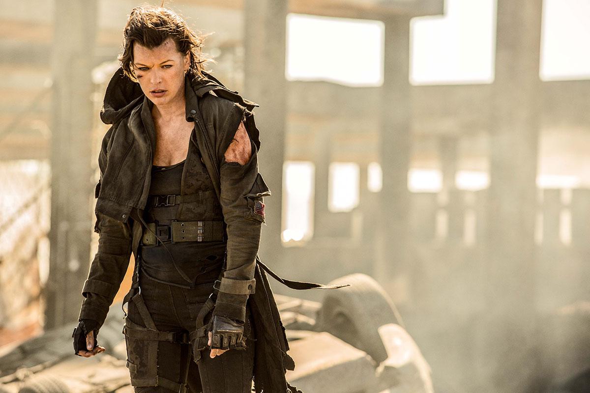 Milla Jovovich en Resident Evil: El capítulo final (2)