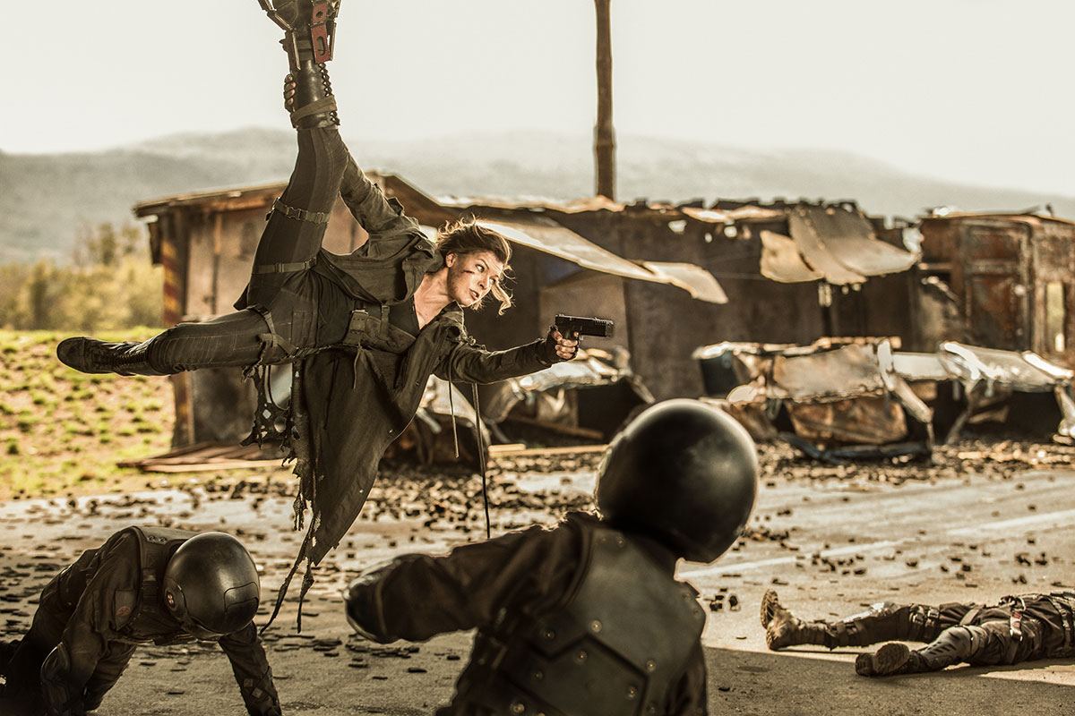 Milla Jovovich en Resident Evil: El capítulo final
