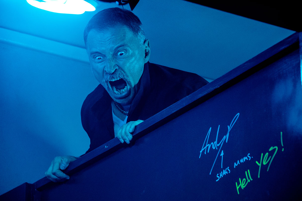 Robert Carlyle en T2 Trainspotting
