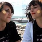 Natalia de Molina y Nausicaa Monnín en la presentación de La luz de Elna