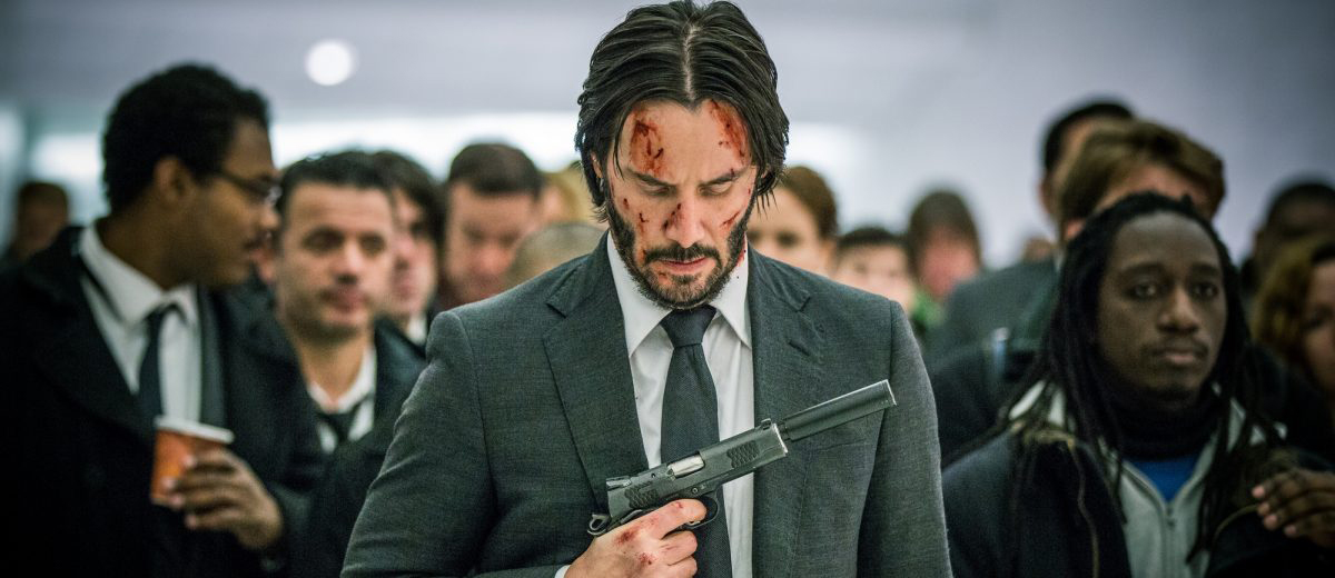 Keanu Reeves en John Wick: Pacto de sangre (2)