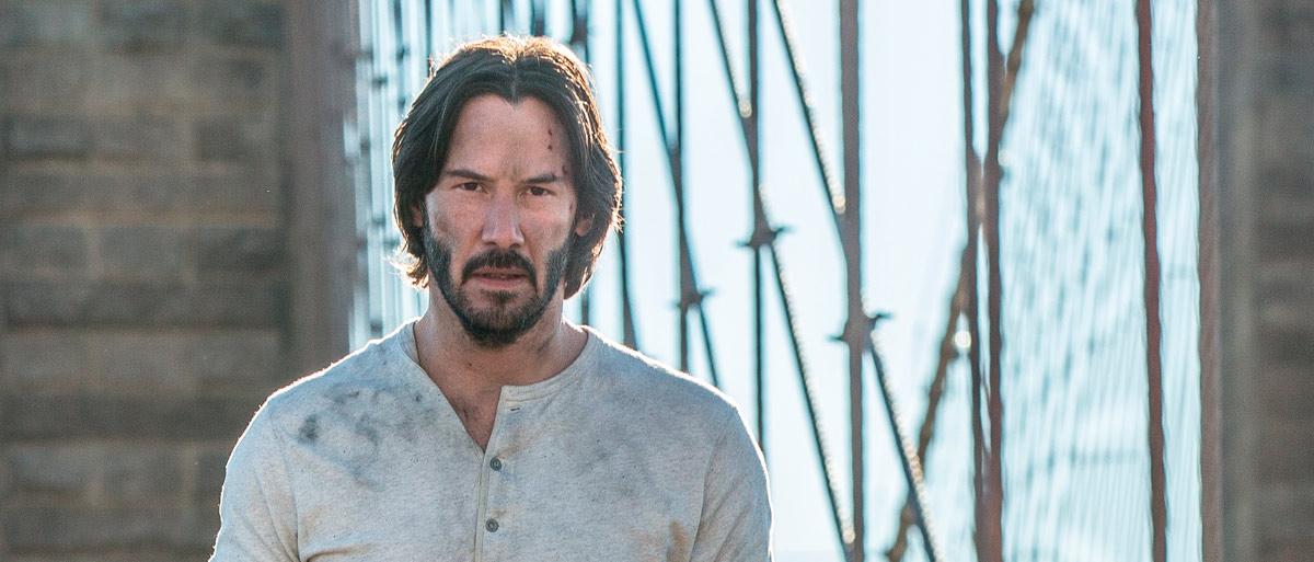 Keanu Reeves en John Wick: Pacto de sangre