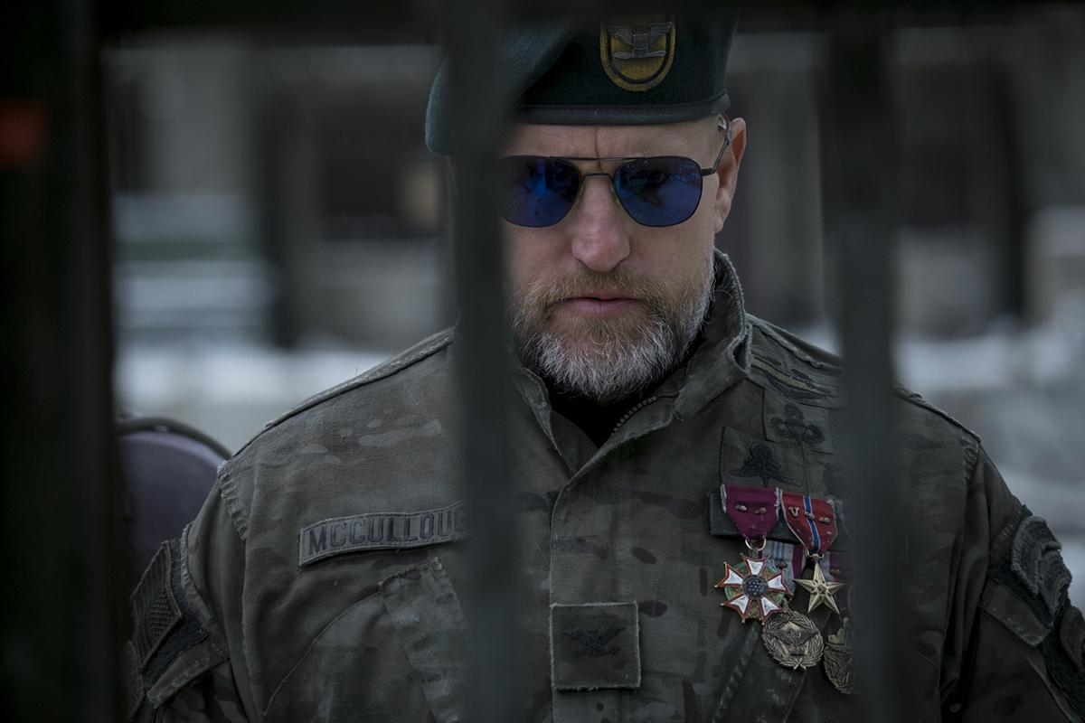 Woody Harrelson en La guerra del planeta de los simios