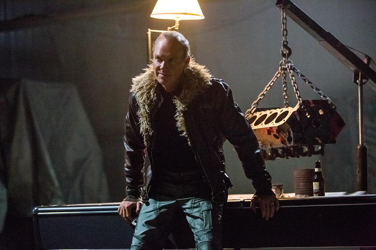 Michael Keaton en Spider-Man: Homecoming