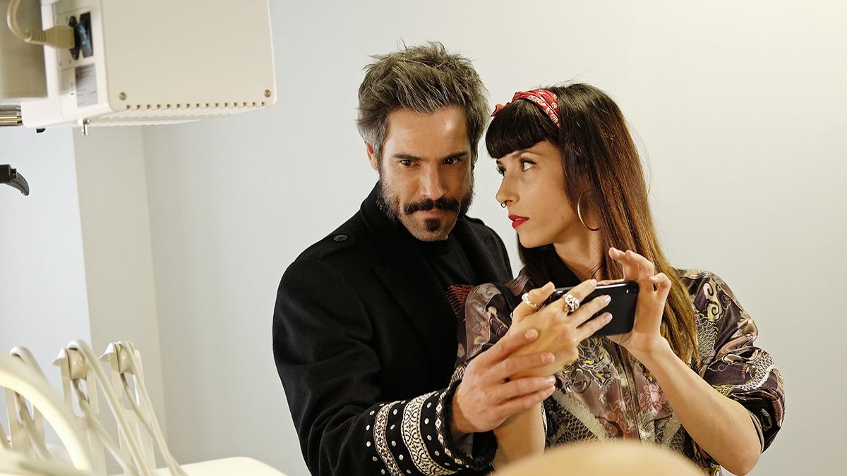 Unax Ugalde y Bárbara Goenaga en Operación Concha