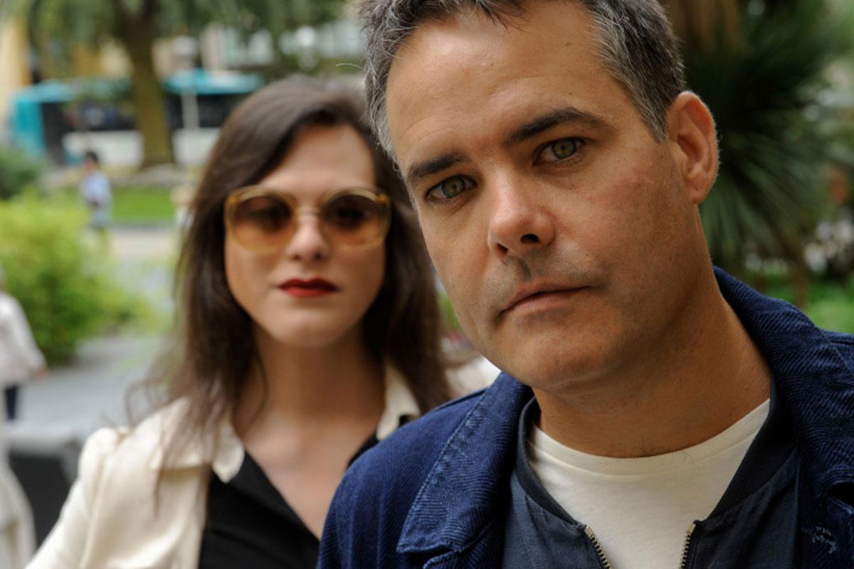 Daniela Vega y Sebastián Lelio de Una mujer fantástica (foto: Gari Garaialde)