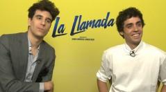 Javier Calvo y Javier Ambrossi en la presentación en San Sebastián de La llamada